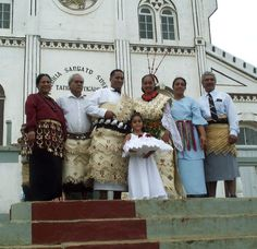 Mädchen in Tongan