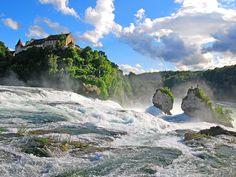 Rheinfall, Switzerland Near my hometown