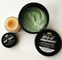 Body & face mask by lush Lush Cosmetics, Handmade Cosmetics, Beauty Care, Beauty Hacks, Lush Products, Glow Products, Hair Products, Beauty Products, Lush Bath Bombs