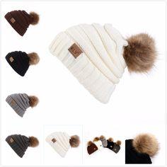 e472fb6abe6 New Men Women s Winter Warm Baggy Beanie Hat Cap Wool Knit Ski kull Slouchy  Caps