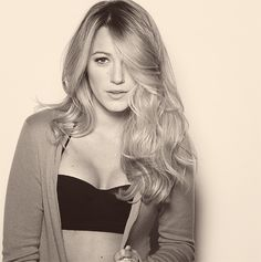 Blake Lively, love her hair.