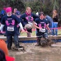 Dirty girl mud run 2013 Raleigh NC