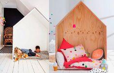O quarto montessoriano: casinha de leitura Montessori Bedrooms: reading corners