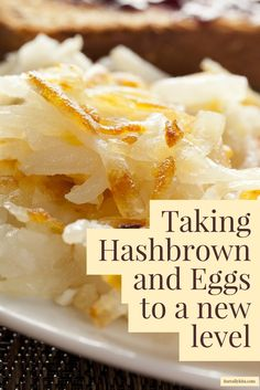 Taking Hashbrown and Eggs to a new level! ItsReallyKita.com