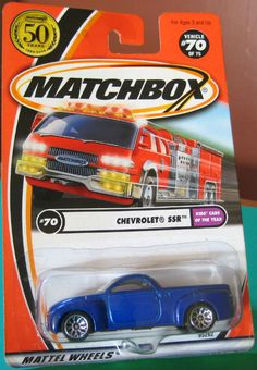 Matchbox 2002 #070 Chevrolet SSR Pickup blue