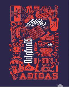 adidas Originals T-shirt Design by F i z - X , via Behance