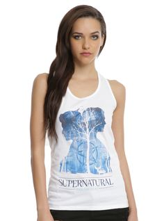 Supernatural Join The Hunt Winchesters Woods Tank Top Supernatural Gifts, Supernatural Outfits, List Style, My Style, Hot Topic, Tank Tops, Celebrities, Casual, Cotton