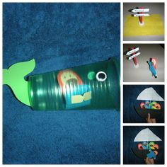 Jonah and the Whale Cup Bible Craft Kids Can Make for Sunday School - Bible story