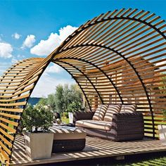 maybe the side panels 2 39 down modern pergola modern pergolas house backyard and sideyards. Black Bedroom Furniture Sets. Home Design Ideas