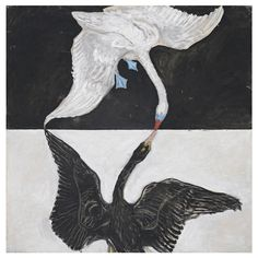 Hilma af Klint  (Swedish, 1862-1944.)  Group IX/SUW, No. 1. The Swan, No. 1…