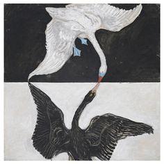 Hilma af Klint  (Swedish, 1862-1944.)  Group IX/SUW, No. 1. The Swan, No. 1…