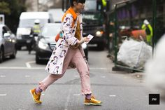 Susie Bubble during London Fashion Week Fall Winter 2015.
