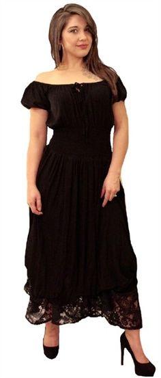 1b918710adfa Layered Balloon Skirt Puff Sleeve Peasant Maxi Dress