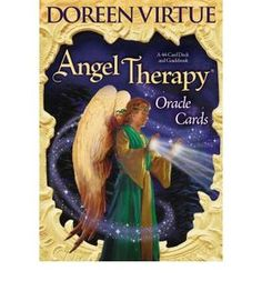 Angel Therapy... oracle cards... (by doreen virtue.) not a book but very interesting