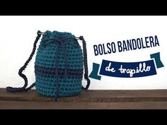 Bolso con granny redondo tejido a crochet / Crochet round granny handbag Knitting Videos, Crochet Videos, Crochet Handbags, Crochet Purses, Crochet Stitches Chart, Diy Fashion Projects, Yarn Bag, Crochet Round, Tapestry Crochet