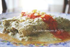 La cocina mexicana de Pily: Papadzules