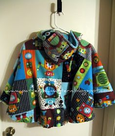 I think I'm going to make this for Josiah so that he is safer in the car seat!!  The question is whether he would wear it...  Is there Buzz Lightyear fleece available???