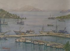 Labuan Bajo, NTT, Indonesia ( donny prawira and his bad watercolor arts)
