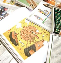 Illustrations in Magazines Example 2