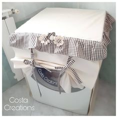 Sewing Tutorials, Sewing Projects, Dishwasher Cover, Washing Machine Cover, Home Management, Kitchen Organization, Special Gifts, Decorating Your Home, Decoration