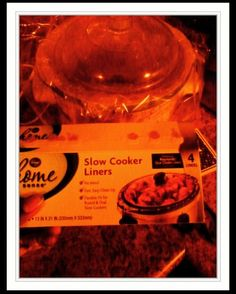"""Lifehack...Grateful for #crockpot (""""#slowcooker ) liners. When it's difficult just to both cook and clean up at times, they save so many resources."""