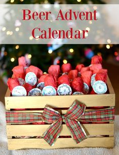 DIY Beer Advent Calendar - with free printables