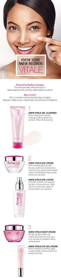 Know Your Anew Vitale Regimen: resist the elements and give your skin a winter glow! #WinterSkin #AvonCanada