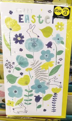 print & pattern: EASTER 2017 - asda