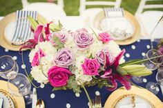 Get expert wedding planning advice and find the best ideas for wedding decorations, wedding flowers, wedding cakes, wedding songs, and more. Wedding Decorations, Table Decorations, Wedding Songs, Navy Pink, Chic Wedding, Nautical, Wedding Cakes, Wedding Flowers, Centerpieces