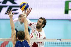 21.09.2014 - Katowice , Final Mistrzostwa Swiata . POLAND, FIVB Volleyball Men's World Championship 2014 The Final . Brazylia (niebieskie) - Polska (bialo-czerwone) n/z. Mateusz Mika . Fot. Tomasz Wantula / EDYTOR.net / NEWSPIX.PL --- Newspix.pl *** Local Caption *** www.newspix.pl  mail us: info@newspix.pl call us: 0048 022 23 22 222 --- Polish Picture Agency by Ringier Axel Springer Poland