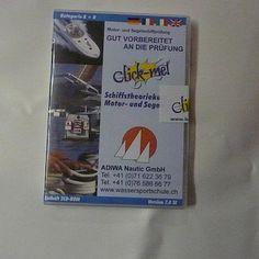 """""""Click-me"""" CD für eine erfolgreiche Teorieprüfung Kat Aund D Binnenschein inkl. Android und IPhone Apps!"""