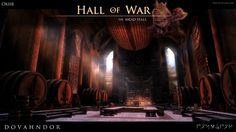 SKYRIM: Dovahndor - Hall of War by okiir.deviantart.com on @DeviantArt