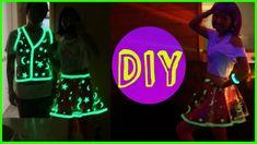 DIY Glowing Vinyl Skirt Costume (+playlist)
