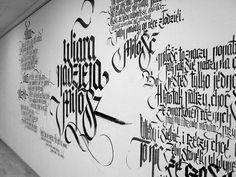 FaithHopeLove exhibition id & calligraffiti performance on Typography Served