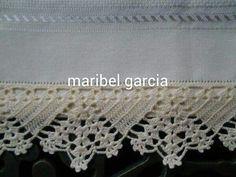 Maribel Garcia barrado em pano de prato