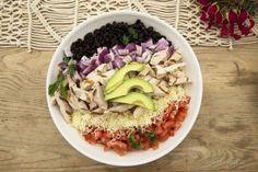 CV_Chopped_Taco_Salad Mexican Food Recipes, Healthy Recipes, Traditional Mexican Food, Food Website, Acai Bowl, Feel Good, Salad, Homemade, Dishes