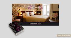 Au Coeur de Bordeaux - Création Print -Réalisation d'un flyer et de cartes de visites Restaurant, Bordeaux, Touch, Bed, Furniture, Home Decor, Carte De Visite, Cards, Homemade Home Decor