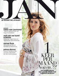 Lieke van Lexmond | Cover JAN Magazine 8-2014