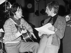 Paul McCartney and C