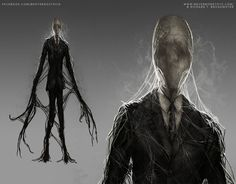 Slenderman - Nevermore Toys by BrotherOstavia ghost demon spirit undead monster beast creature animal | Create your own roleplaying game material w/ RPG Bard: www.rpgbard.com | Writing inspiration for Dungeons and Dragons DND D&D Pathfinder PFRPG Warhammer 40k Star Wars Shadowrun Call of Cthulhu Lord of the Rings LoTR + d20 fantasy science fiction scifi horror design | Not Trusty Sword art: click artwork for source