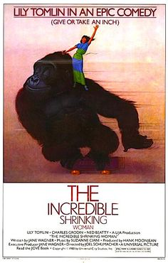 The Incredible Shrinking Woman Joel Schumacher, 1981