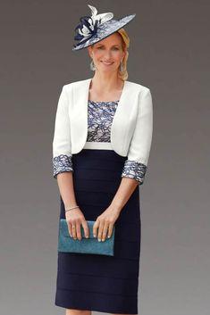 0ff4a059312a6 Condici short layered dress with matching jacket: 29110