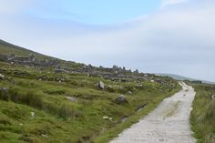 The Abandoned Village on Achill Island, Ireland.  Quite a  walk but it was peaceful & amazing views.