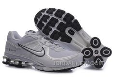 http://www.jordannew.com/mens-nike-shox-r4-shoes-cool-grey-white-lastest.html MEN'S NIKE SHOX R4 SHOES COOL GREY/WHITE LASTEST Only $80.56 , Free Shipping!