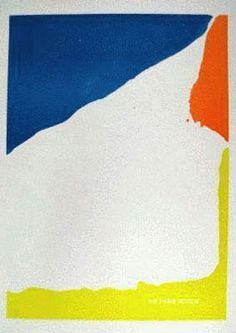 Helen Frankenthaler: Paris Review 1965, print.