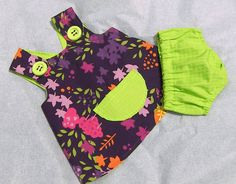 Girl dress and bloomers