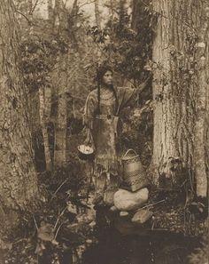 Ojibwa woman - 1908