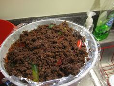 Here's another dirt cake idea