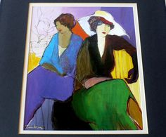Itzchak Tarkay Art Prints Lithographs Plate Signed by designfinder