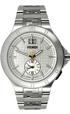 Fendi. The band is a little thick but beautiful.